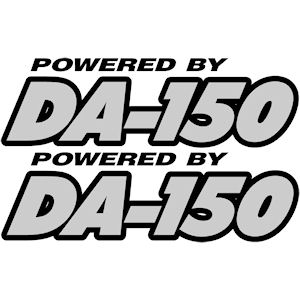 00242<br>Powered By DA-150<br>Set of 2