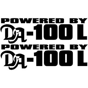 00399<br>powered By DA-100-L<br>Set of 2