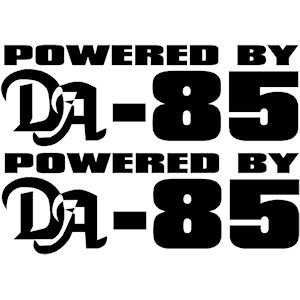 00403<br>Powered By DA-85<br>Set of 2