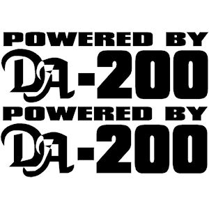 00406<br>Powered By DA-200<br>Set of 2