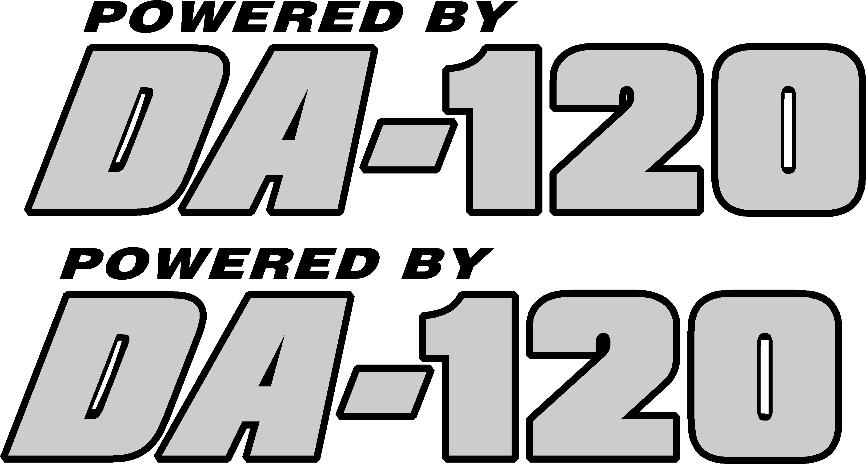 00541<br>Powered By DA-120<br>Set of 2