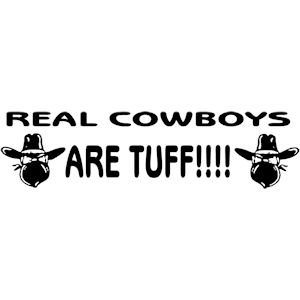 145<br>Real Cowboys Are Tuff