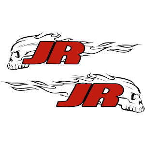 54<br>JR Scull In Flames<br>Set of 2